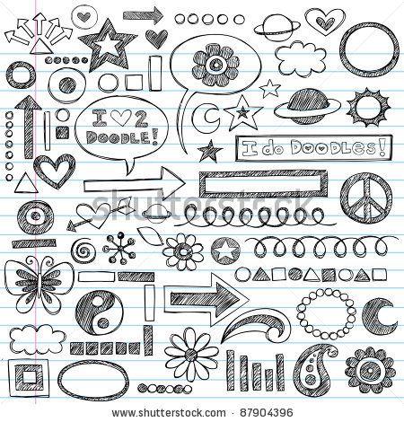 17 Best ideas about Notebook Doodles on Pinterest   Hand drawn ...