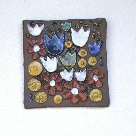 Check out this item in my Etsy shop https://www.etsy.com/se-en/listing/223408351/ceramic-plaque-flowers-by-annika-kihlman
