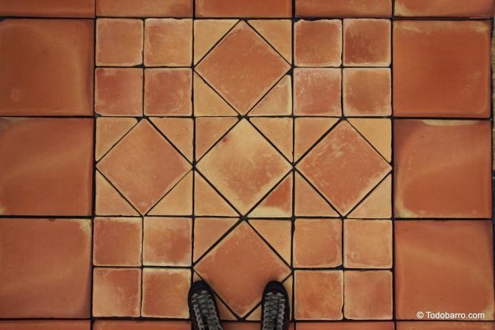 Teselado de salom n terracotta floor tiles designs of - Baldosas de terracota ...