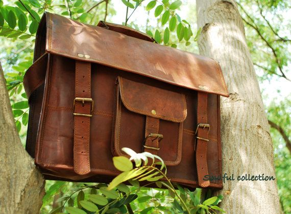 Hey, I found this really awesome Etsy listing at http://www.etsy.com/listing/130847773/mega-sale-15-brown-leather-laptop-bag