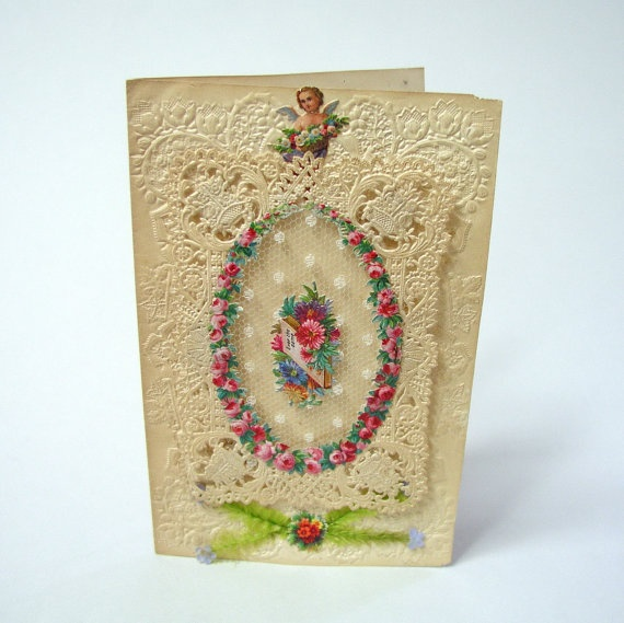 137 best images about Antique Valentines – Late Valentine Cards