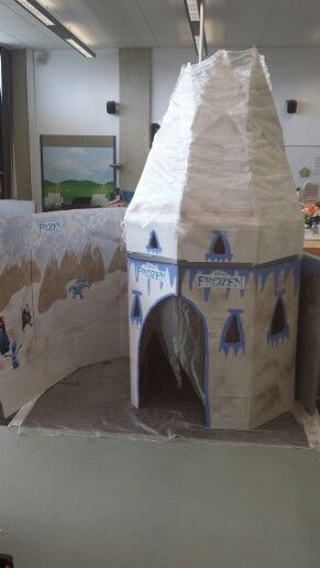 Role play Frozen castle gbavertock