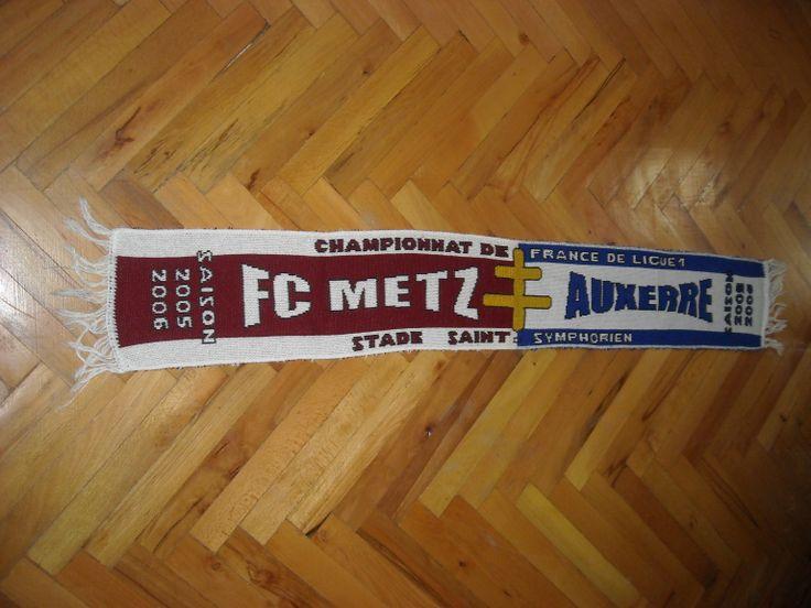 FC Metz - Auxerre Buy it from www.ScarvesForSale.eu
