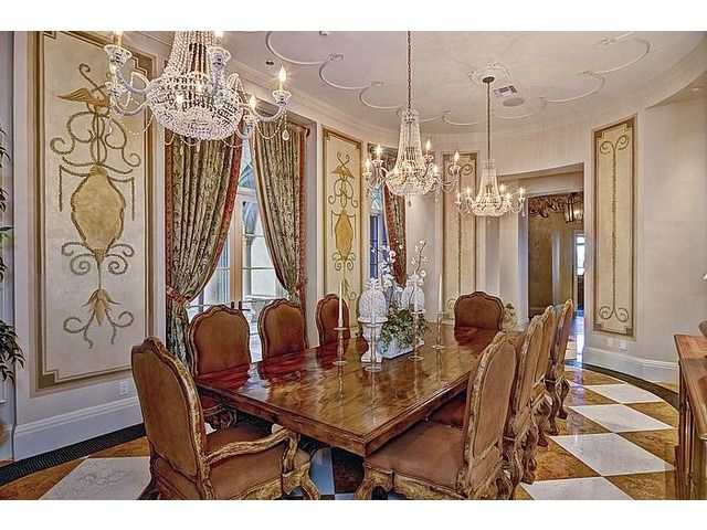100 ideas to try about mini dining room miniature rooms for Formal dining room chandelier