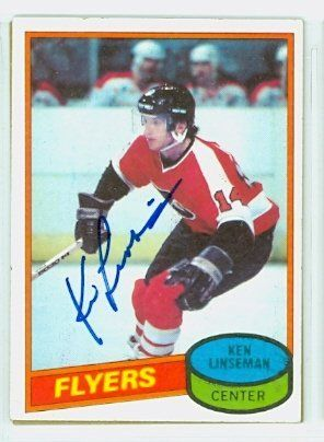 Ken Linseman AUTO 1980-81 Topps Flyers by Regular Topps Issue. $6.00. This card was signed by Ken Linseman and authenticated by JSA - a leading 3rd party authenticator