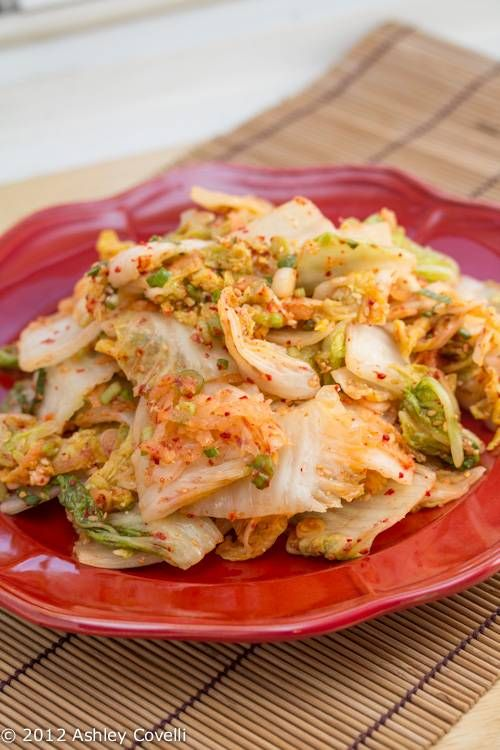 Quick Kimchi | Recipes to Try | Pinterest
