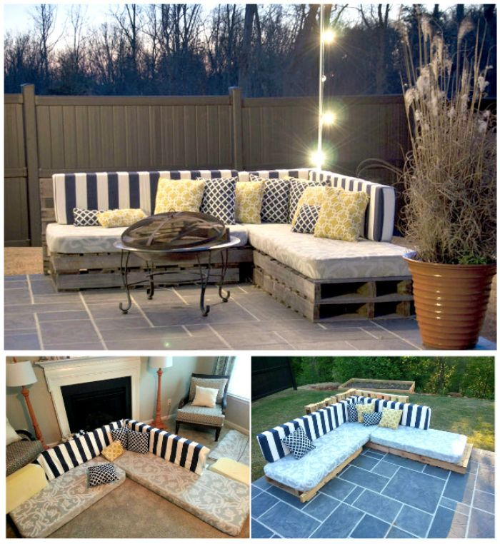 Pallet Sofa 21 Diy Pallet Sofa Plans Ideas Para El