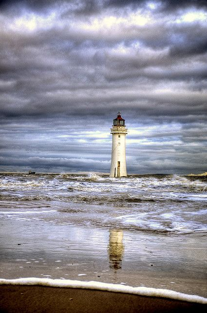 New Brighton Lighthouse, England