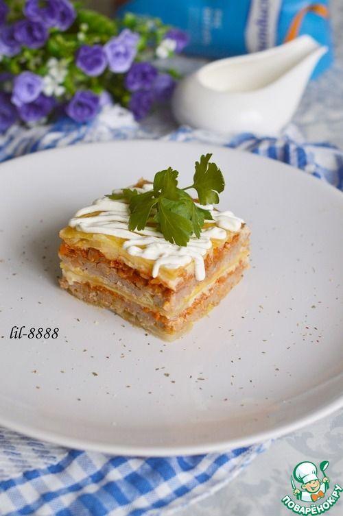 Капустная лазанья или голубцы по-итальянски - кулинарный рецепт
