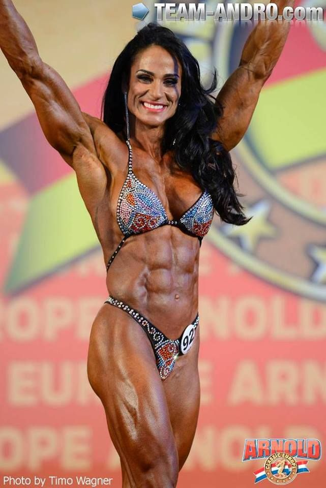 bodybuilder woman steroids