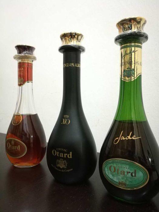 Catawiki online auction house: Otard Cognac VSOP, XO & Jade - 33,33 cl bottles