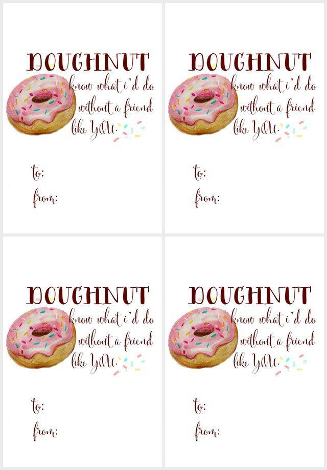 Free watercolor doughnut printable(s) | Craftberry Bush | Bloglovin'