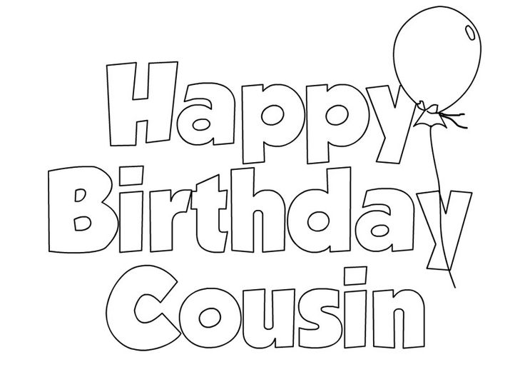 Happy Birthday Cousin Wishes Pictures