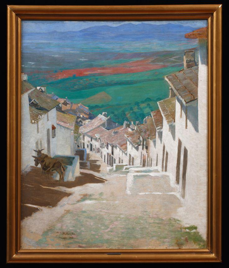 Jens Ferdinand Willumsen (1863-1958) Street in Alora, 1889 Oil on canvas 98.5 × 80.5 cm Inv. no. B 453