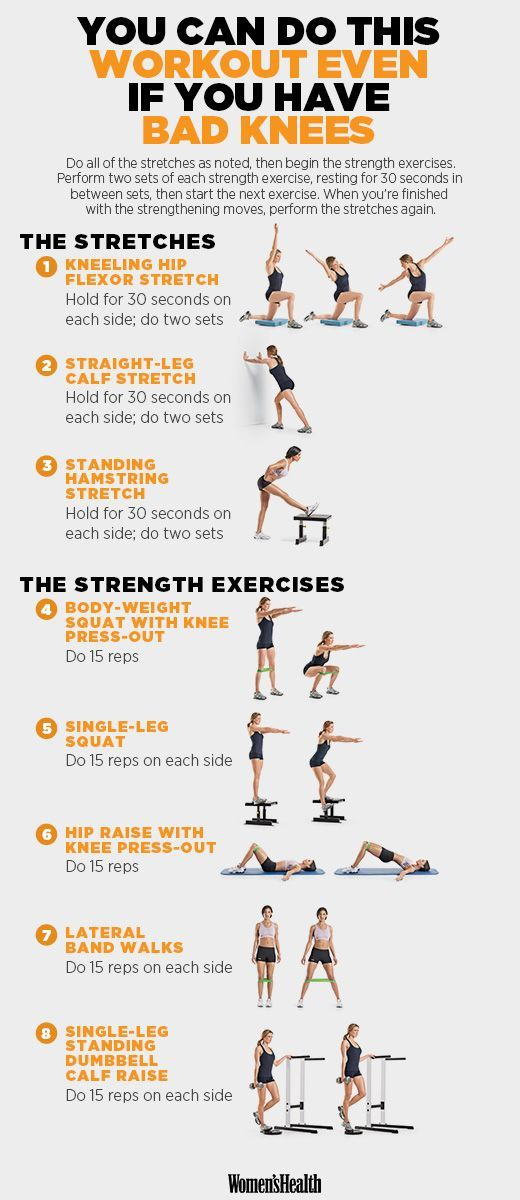A Workout You Can Crush Even If You Have Bad Knees Knee