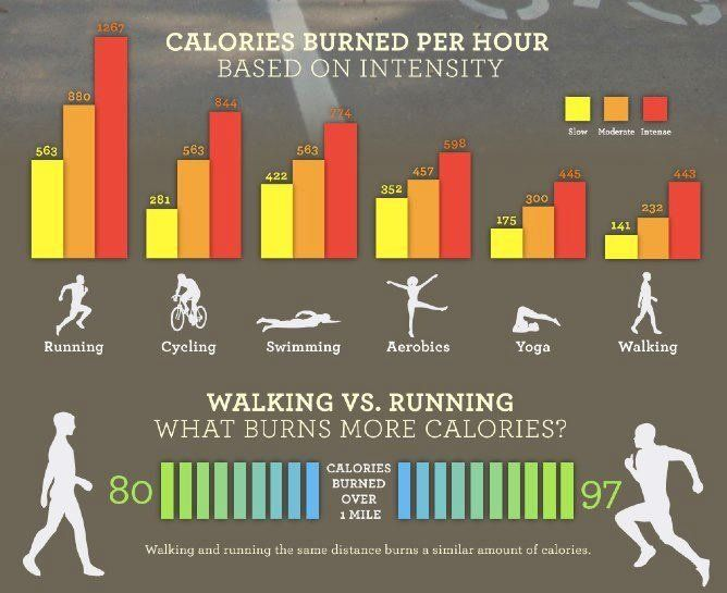 Activity Calorie Calculator | Calorie verbranding