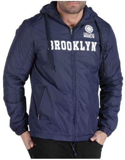 ΝEEΣ ΑΦΙΞΕΙΣ :: Αντιανεμικό Brooklyn NY Navy Blue - OEM