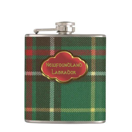 Newfoundland/Labrador Original Tartan Flask
