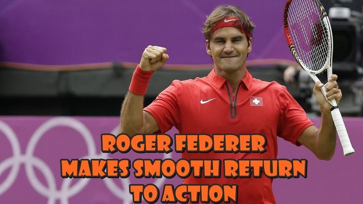 BREAKING NEWS _ Roger Federer Makes Smooth Return To Action