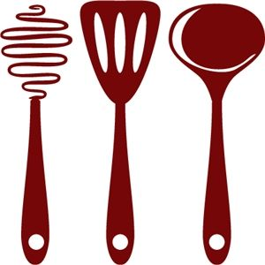 Cooking Utensils Avec Images Silhouette Cam 233 O