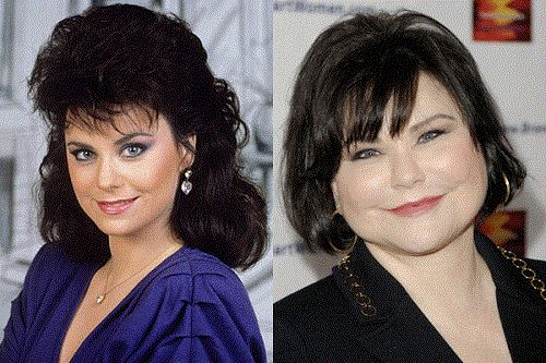 Delta burke plastic surgery gone wrong rumor celebrity for What does delta burke look like now