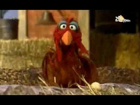 ▶ Sesamstraat - Ik ben een kip - YouTube