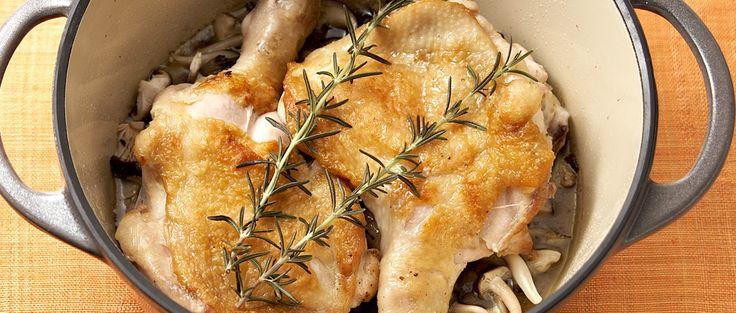 レシピ:鶏の「ジューシー」ロースト - VERMICULAR | バーミキュラ