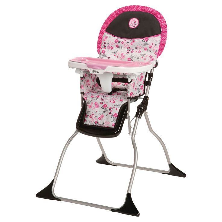 Disney Minnie Mouse Simple Fold High Chair - Garden Delight, Pink