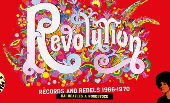 Revolution è la mostra dedicata alla musica, fotografia, arte e tendenze di un'epoca unica. Alla Fabbrica del Vapore di Milano sino al 4 aprile 2018.