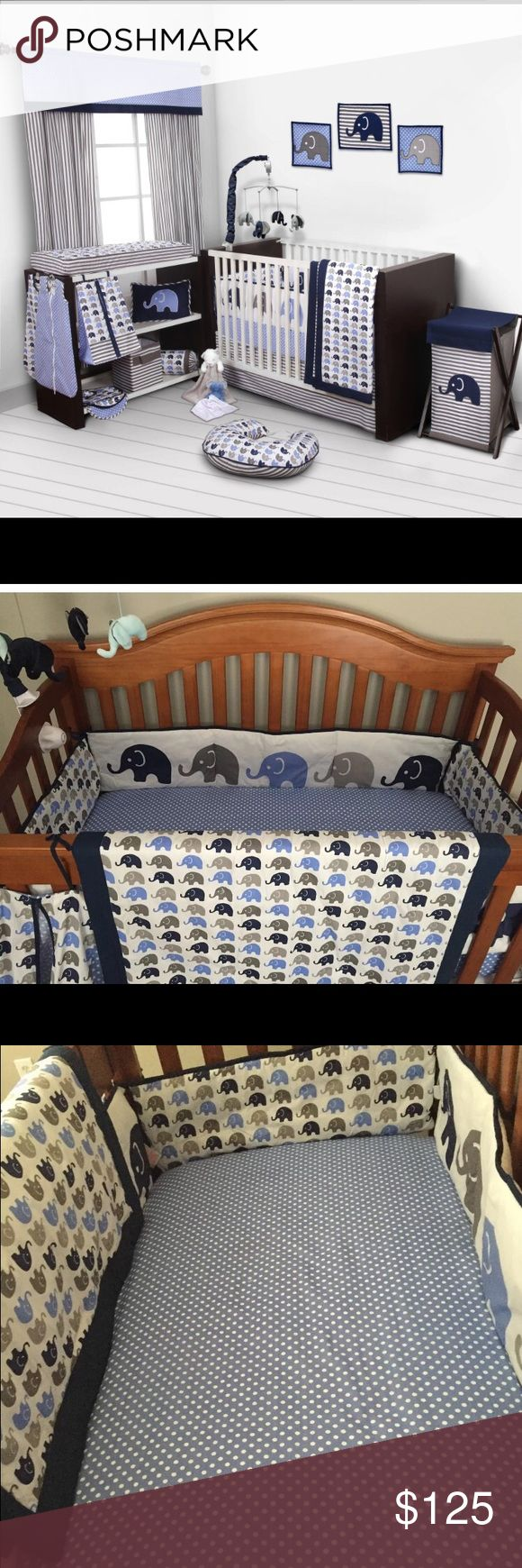 1000 ideas about elephant crib bedding on pinterest crib bedding cribs and mini crib bedding. Black Bedroom Furniture Sets. Home Design Ideas