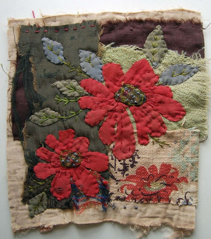 love this hand stitched piece by Mandy Pattullo
