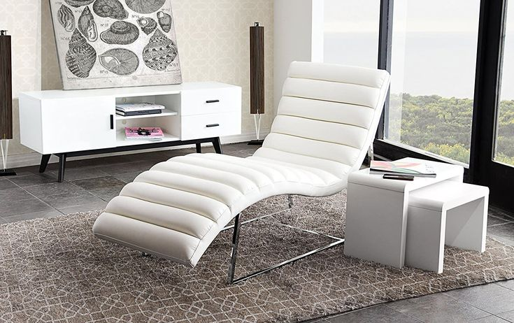 Chaise Lounge Or Chaise Longue Whether You Go The French Or American Pronunciation Route These Long Cha In 2020 Faux Leather Chair Modern Chaise Lounge Leather Chair