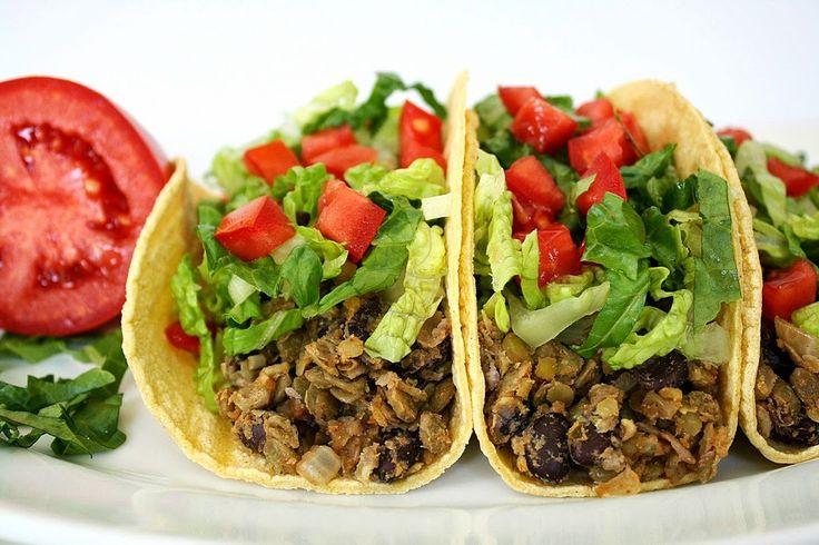 The Garden Grazer: Black Bean Lentil Tacos