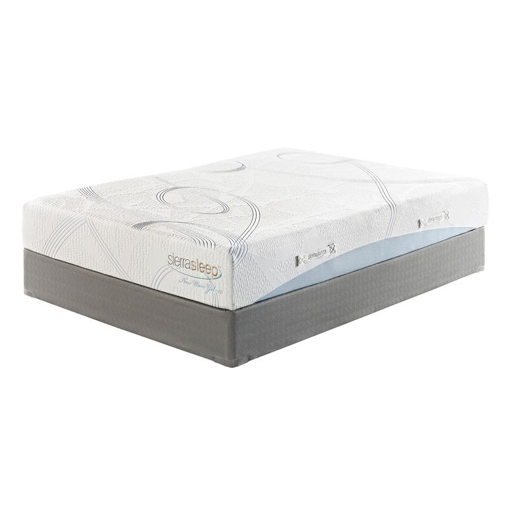 Create a new sleeping pattern with this wonderful and comfortable gel foam mattress from Sierra Sleep. This twin-size mattress is naturally resistant to dust mites and improves circulation for a blissful night's sleep.