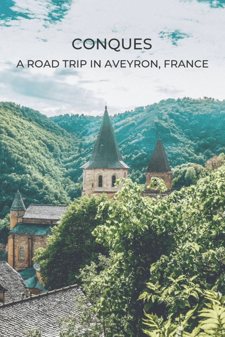 Conques,France is a must see on any road trip through