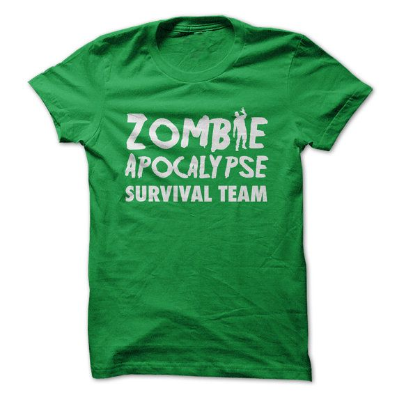 Zombie-Apokalypse überleben Team  lustige von ILoveApparel auf Etsy
