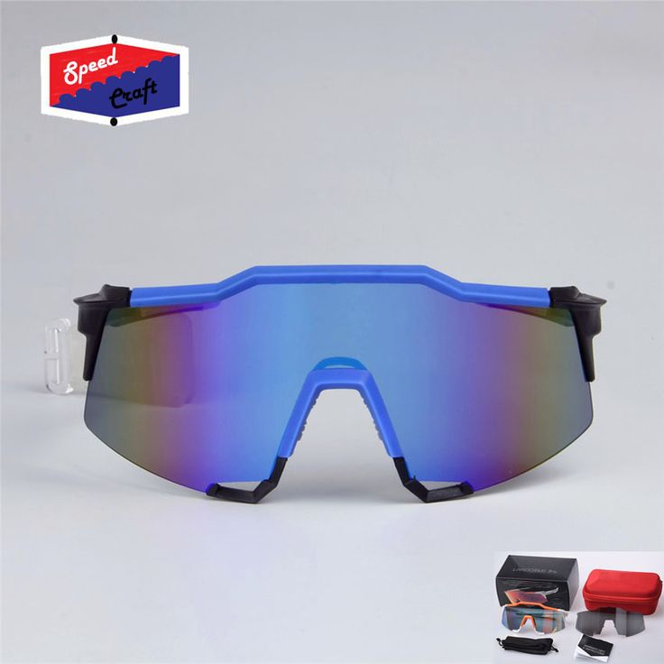 New 100% Speedcraft Bicycle Cycling Glasses Outdoor Bicycle Sunglasses MTB Road Bike Ciclismo oculos Men Women Cycling Eyewear
