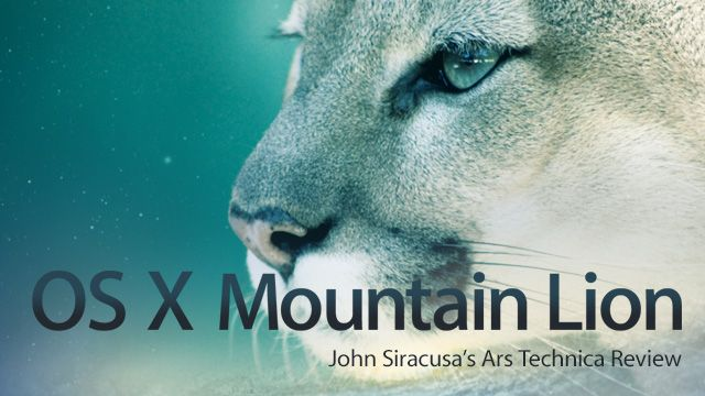 John Siracusa's comprehensive Mountain Lion review