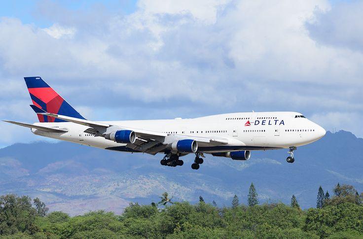 Delta final approach - Honolulu International Airport.
