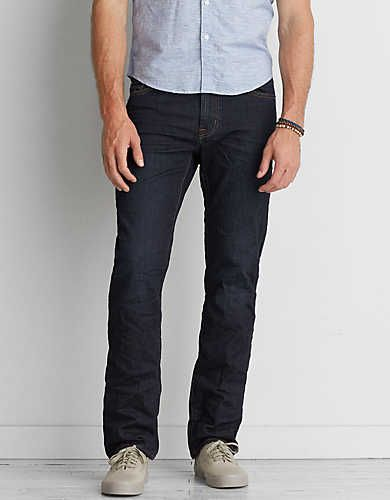 Billy' relaxed bootcut jeans (wooden rooftop)