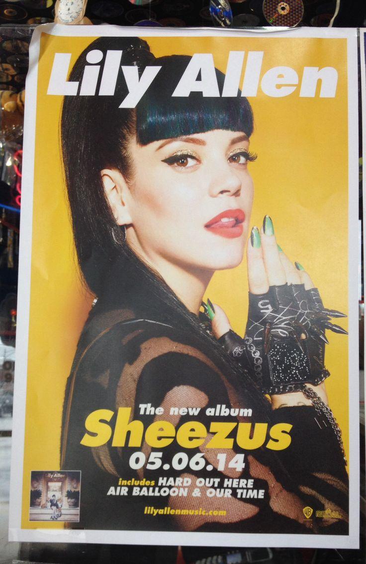 Lily allen sheezus album promo poster music misc lily allen sheezus album promo poster music misc pinterest lily allen hexwebz Image collections