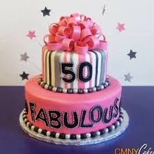 Image result for female 50th birthday cupcakes                              …