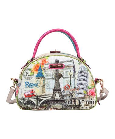 Look at this #zulilyfind! Europe Dome Satchel by Nicole Lee #zulilyfinds