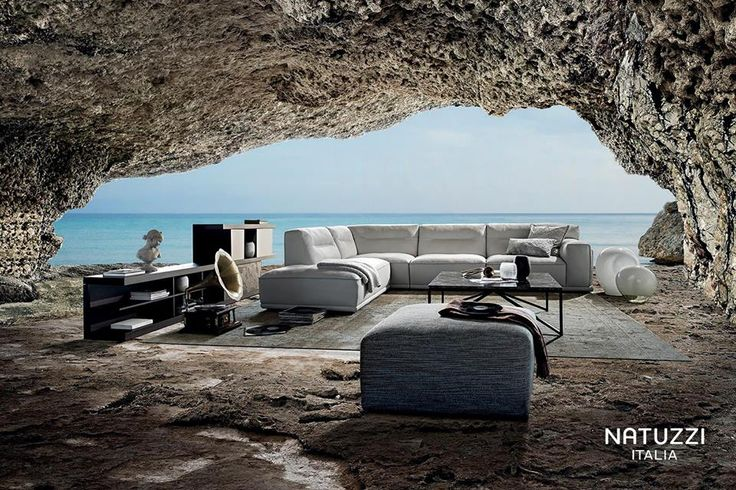 With generous proportions and curved shapes, Dorian by Manzoni and Tapinassi is an impressive and aesthetically pleasing sofa with a personality that stands out in any room.  #ItalianDesignerFurniture #ItalianLuxurySofas @Natuzzi