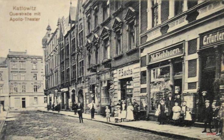 Zdjęcie numer 3 w galerii - Najpierw kręta wiejska droga, potem szykowny salon Katowic. Ta ulica aż osiem razy zmieniła nazwę