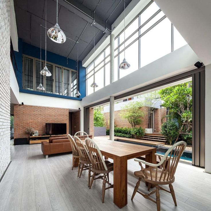 Themsfly Modern Industrial Living Two House in Bangkok