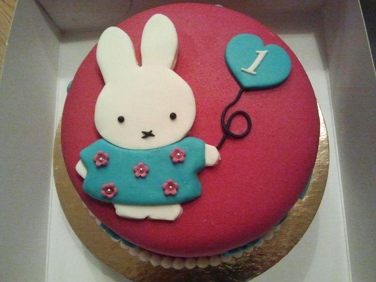1st birthday cake nijntje