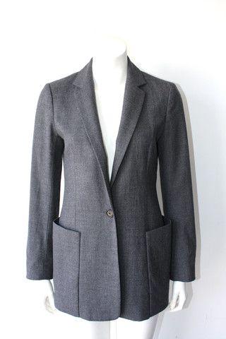 Talula  Babaton Grey Wool  Blazer $85