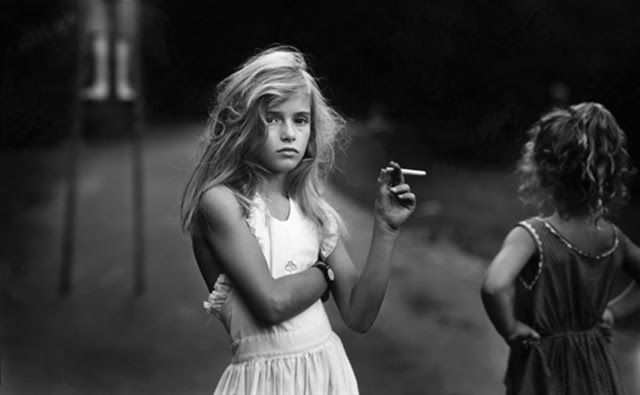 Sally Mann Candy Cigarette, 1989