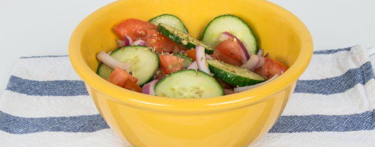Mediterranean Cucumber Salad Recipe | Greatest